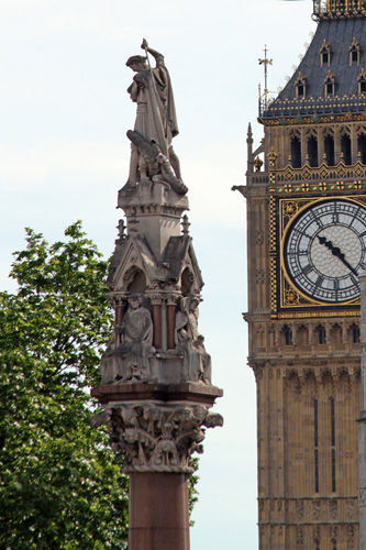 Westminster Monument and Clock Tower/Big Ben