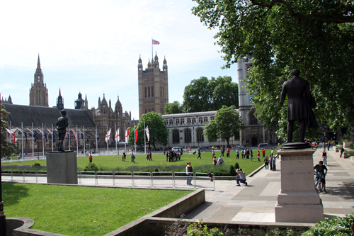 Parliament Square Gardens - Buffer Zone for WHS