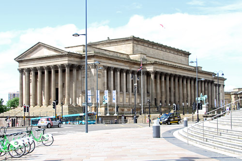 St. George's Hall [Grade I listed building], Liverpool.