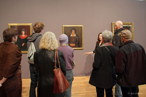 Gallery Talk by Art Historian Dr. Amy Mooney of Columbia College