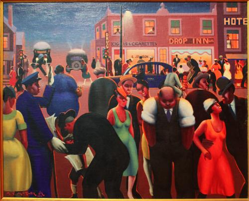 Black Belt [1934] - by Archibald Motley