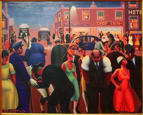 Black Belt [1934] - by Archibald Motley / Collection of Hampton University Museum, Hampton, Virginia.