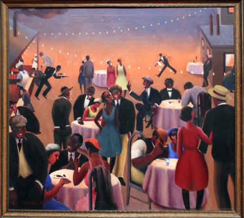 Barbecue [1934] - by Archibald Motley