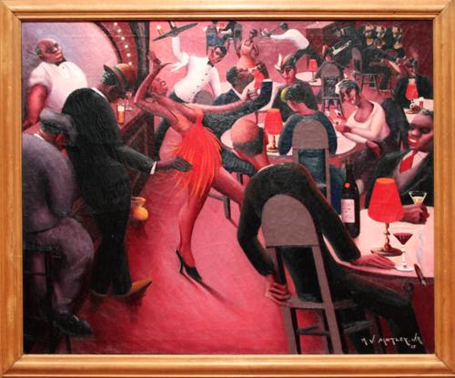 Saturday Night [1935] - by Archibald Motley