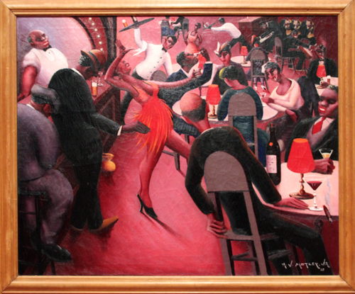 Saturday Night [1935] - by Archibald Motley