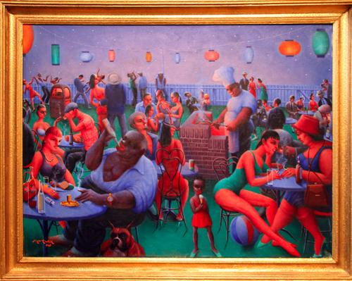 Barbecue [1960] - by Archibald Motley