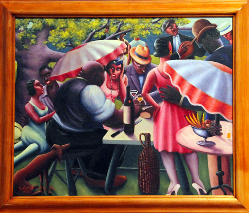 The Picnic [1936] - by Archibald Motley