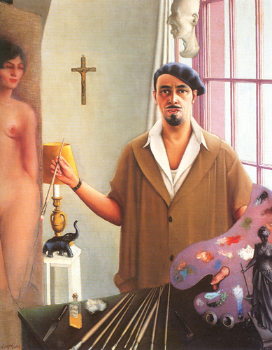 Self-Portrait [Myself at Work] 1933- by Archibald Motley