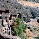 Ajanta Caves, Maharashtra, India.