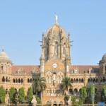 Chhatrapati Shivaji Terminus, Mumbai, Maharashtra, India.