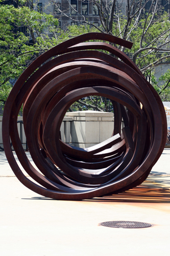 Six Indeterminate Lines – by Bernar Venet
