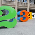 Numbers 0-9 - by Robert Indiana