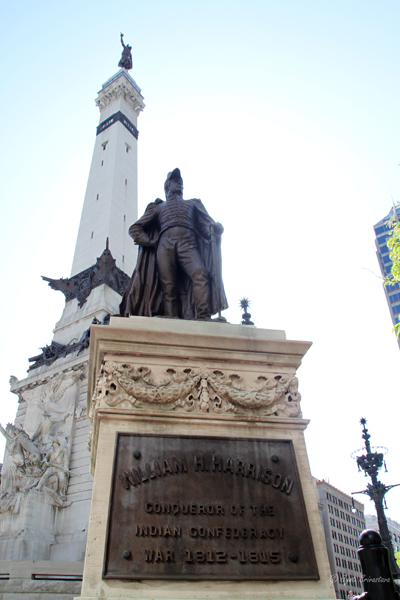Indianapolis: Soldiers and Sailors Monument / William H. Harrison
