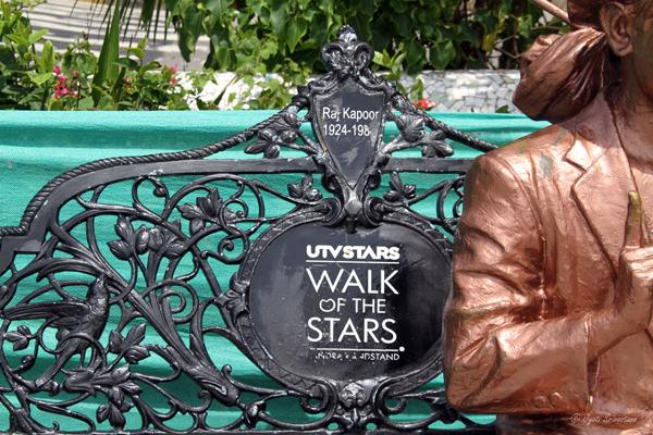 Details:  Walk of the Stars / Raj Kapoor [1924 - 1988