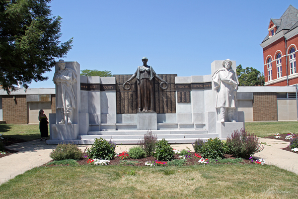 Soldier's Monument - by Lorado Taft