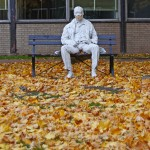 Man on A Bench [1986] – by George Segal