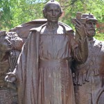 Jacques Marquette Memorial [1926] – by Hermon Atkins MacNeil