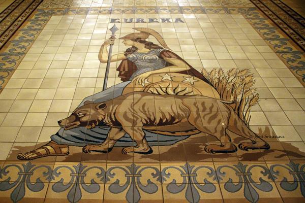 Eureka tile grouping / California State Capitol