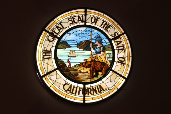 California's Great Seal / California State Capitol