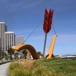 San Francisco / Cupid's Span – by Claes Oldenburg and Coosje van Bruggen