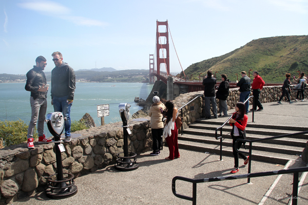 San Francisco: the Golden Gate bridge - was once thought to be impossible to make!