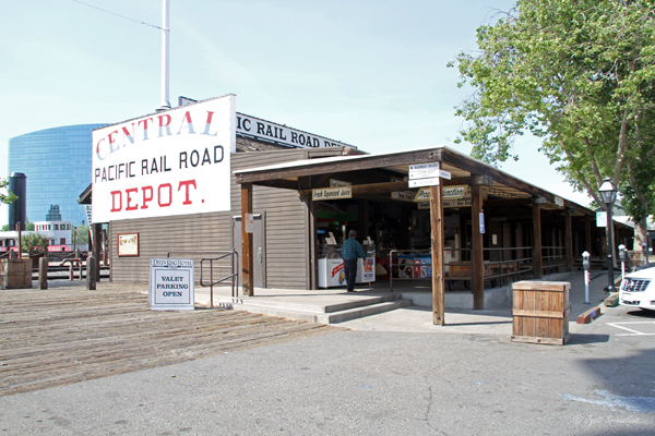 Central Pacific Freight Depot