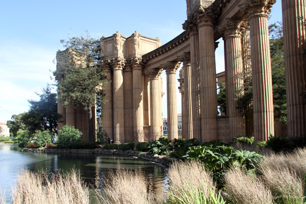 Pergola - Palace of Fine Arts, San Francisco