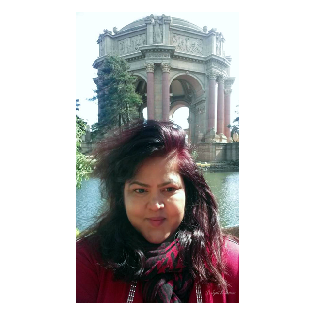 Selfie- Palace of Fine Arts, San Francisco