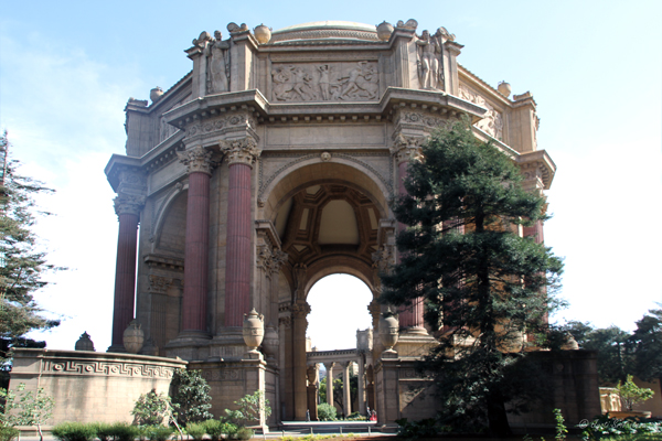 Central rotunda - Palace of Fine Arts, San Francisco