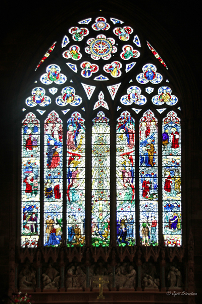 East Window - St Martin in the Bull Ring