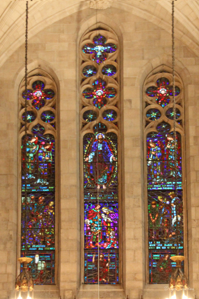 The Great West Window - Fourth Presbyterian Church