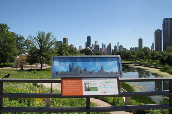 Arcelo Mittal Skyline Interpretive - Nature Boardwalk - Lincoln Park Zoo