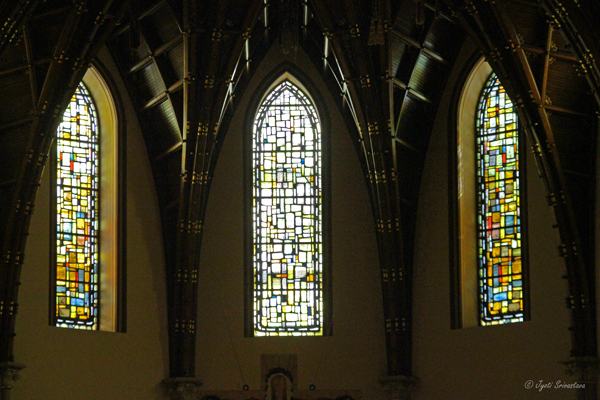 Stained glass windows / Holy Name Cathedral