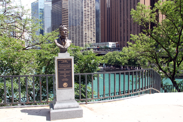 Jean Baptiste Pointe DuSable - by Eirk Blome