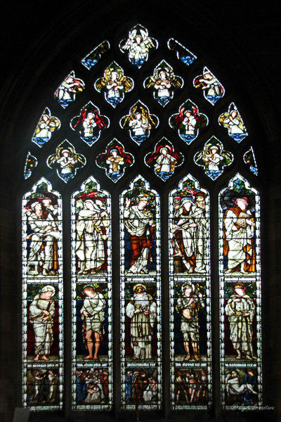 South Window - Burne-Jones window - St Martins in the Bull Ring