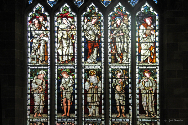 South Window - Burne-Jones window  - St Martins in the Bull Ring