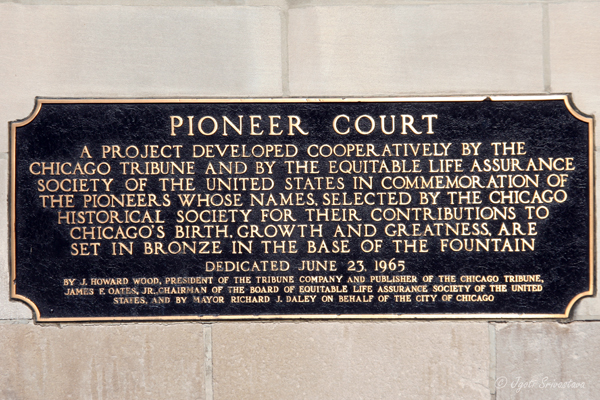 Pioneer Court,  Chicago.