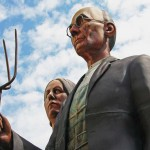 2009-2010: God Bless America – by Seward Johnson
