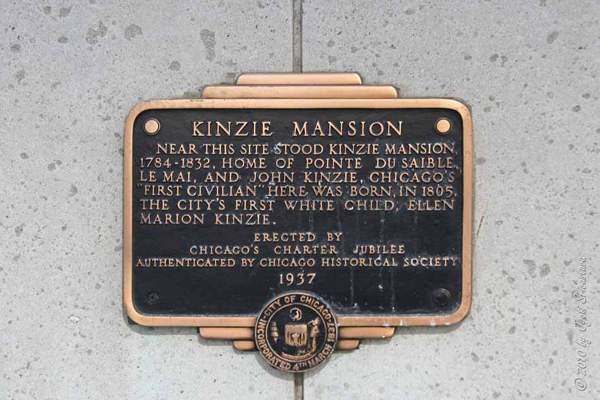 Site of Kinzie Mansion