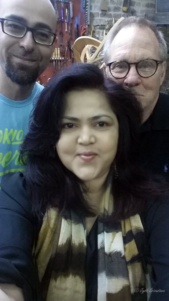 Selfie with Boyan Marinov and Terrence Karpowicz
