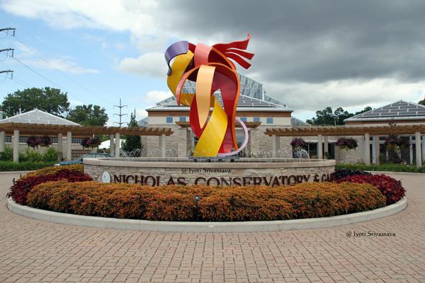 Nicholas Conservatory & Gardens /  Snnissippi Gardens, Rockford.