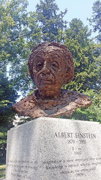 Albert Einstein - by Robert Berks