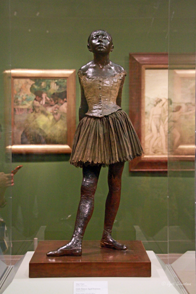 AIC: Little Dancer Aged Fourteen - by Edgar Degas