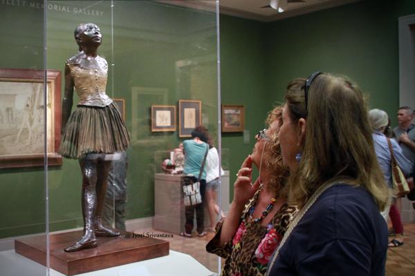 Little Dancer Aged Fourteen - by Edgar Degas