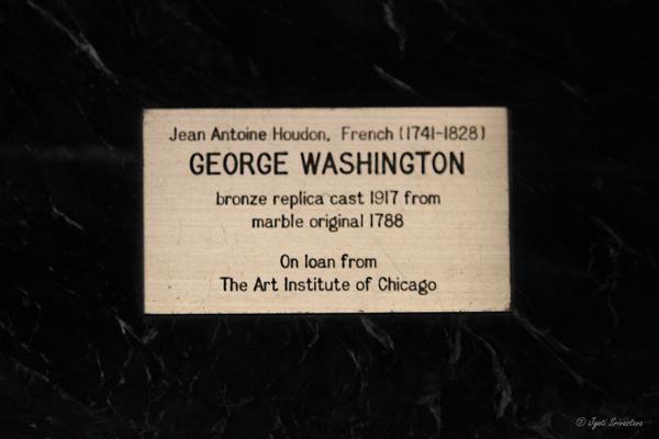 George Washington – by Jean-Antoine Houdon