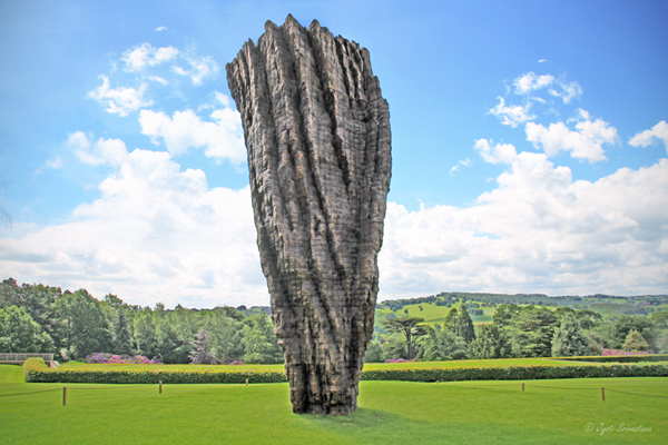 For Martin F [2013] - by Ursula von Rydingsvard