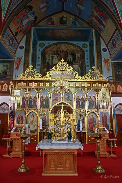 Sanctuary: St. Volodymyr Ukrainian Orthodox Cathedral