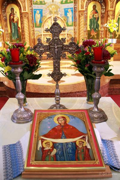 The Cross: Saints Volodymyr and Olha Ukrainian Catholic Church