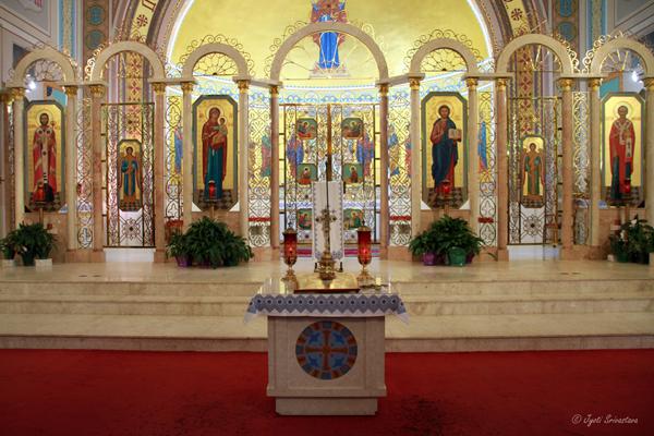Sanctuary: St. Nicholas Ukrainian Catholic Cathedral