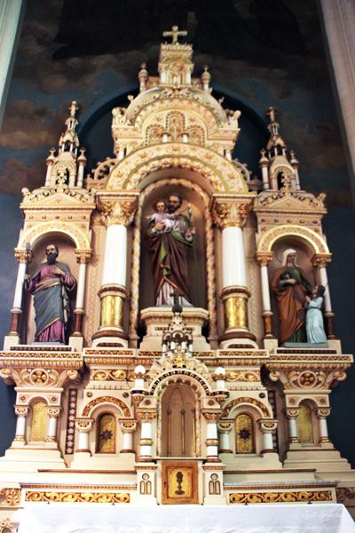 St. Joseph alter / St. Michael's Church